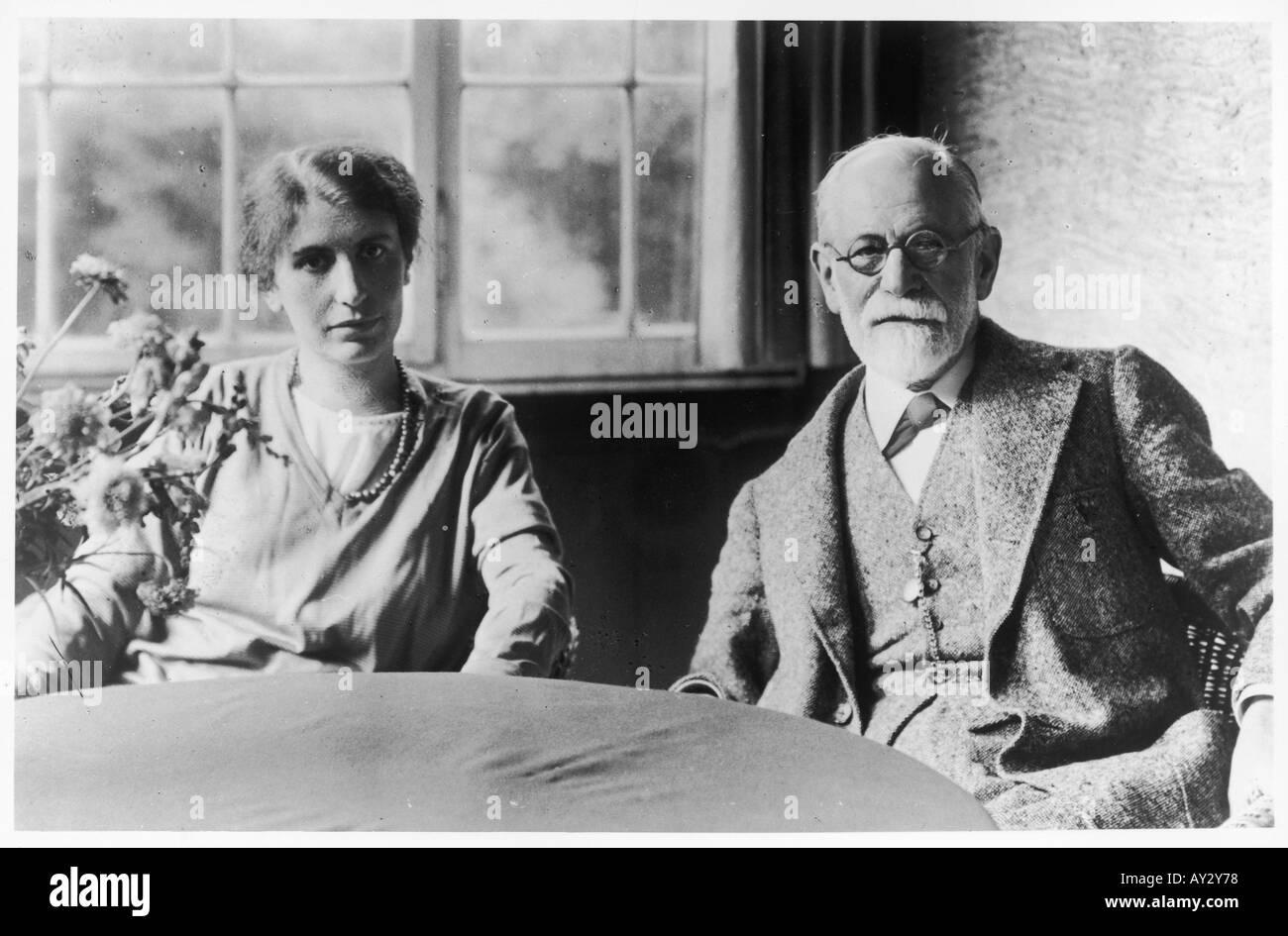Freud Anna 1928 49 - Stock Image
