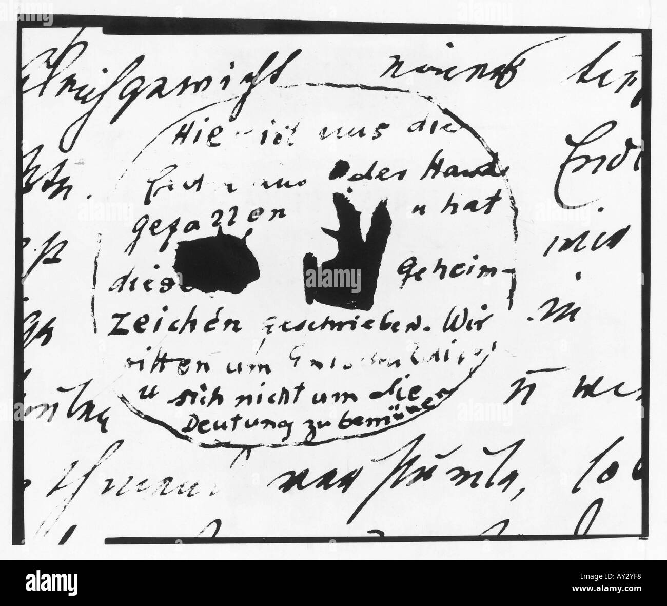 Freud Letter To Martha78 - Stock Image