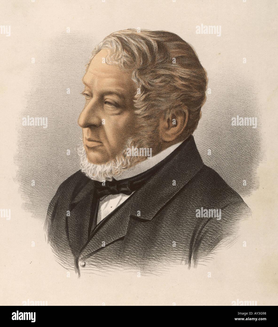 Lionel Nathan Rothschild - Stock Image