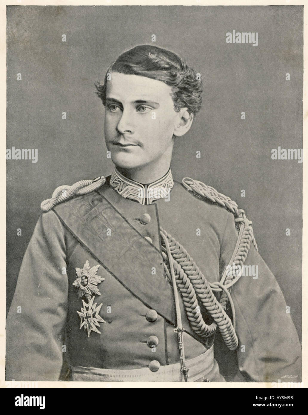 Otto Reigned 1886 1913 - Stock Image