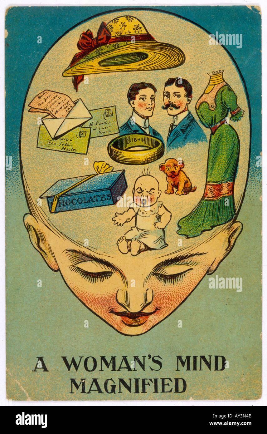 Womens Rights Mockery - Stock Image
