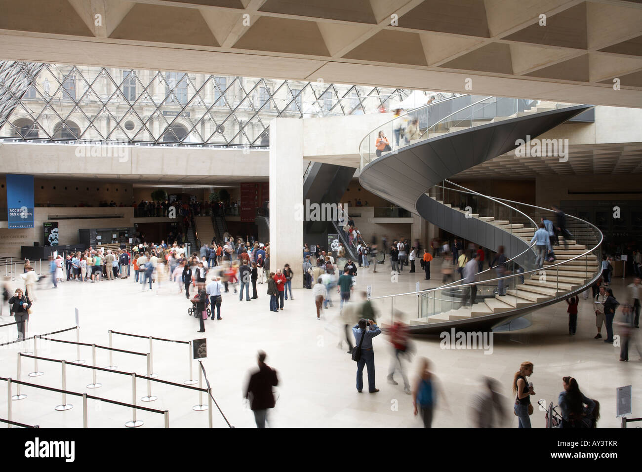 The Louvre - Stock Image