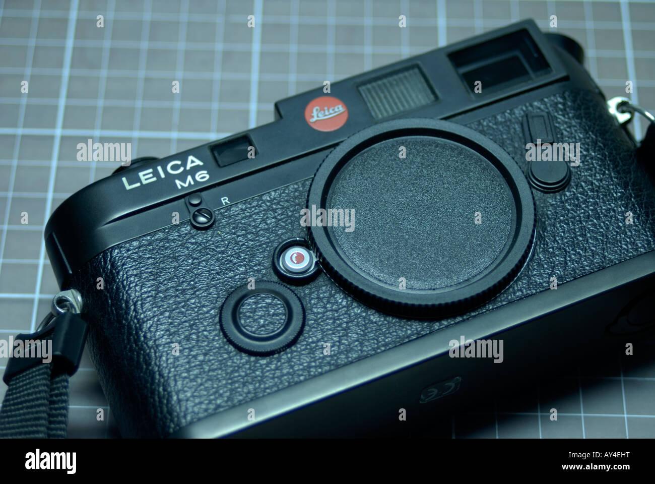 Leica M6 rangefinder - Stock Image
