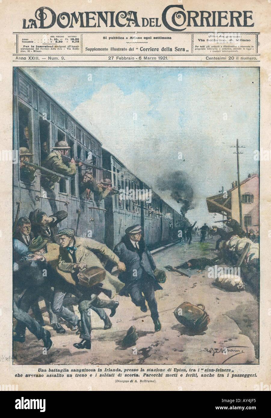 Sinn Fein Terrorism - Stock Image