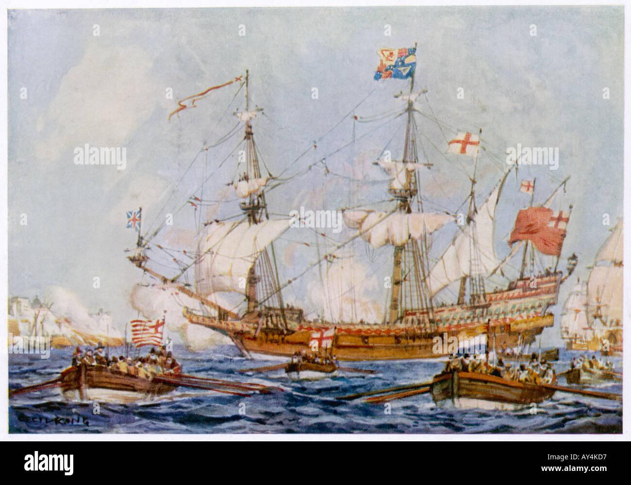 Ark Royal King - Stock Image