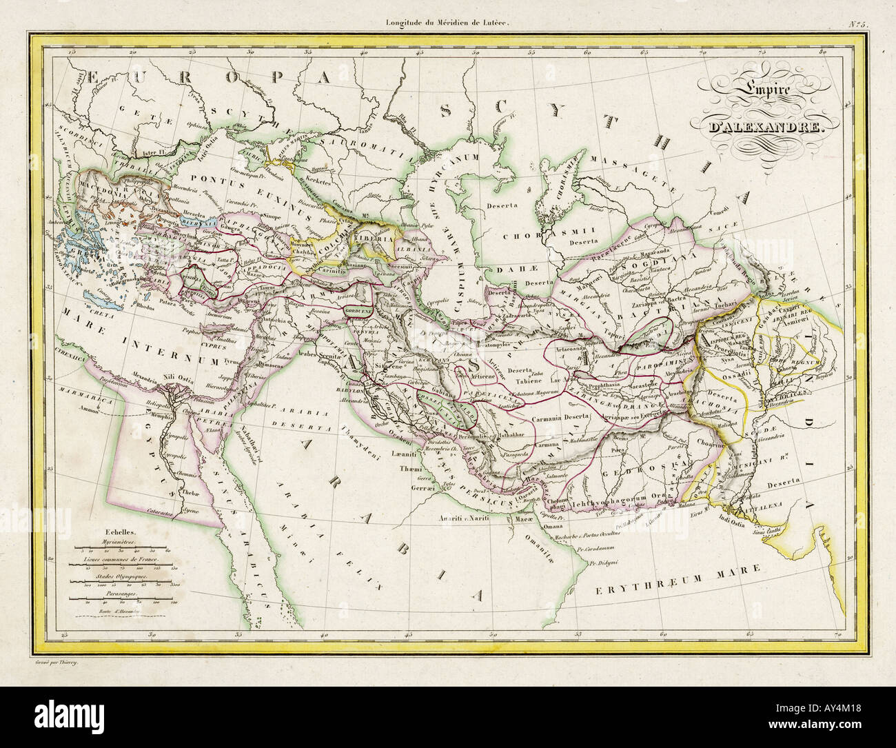 Map of greece stock photos map of greece stock images alamy map europe greece 323bc stock image gumiabroncs Images