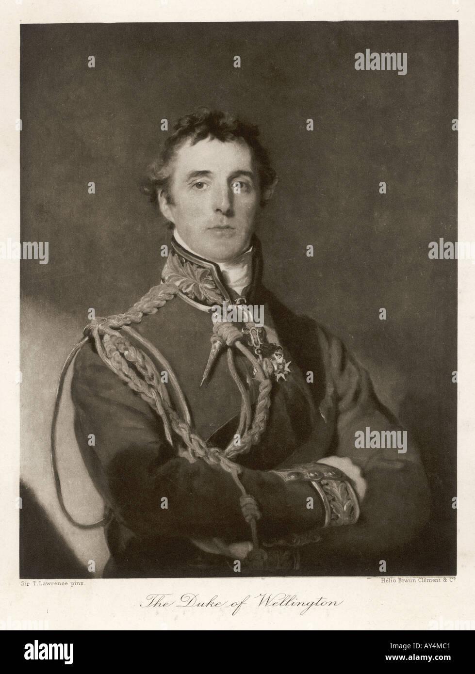 Duke Wellington Lawrence - Stock Image