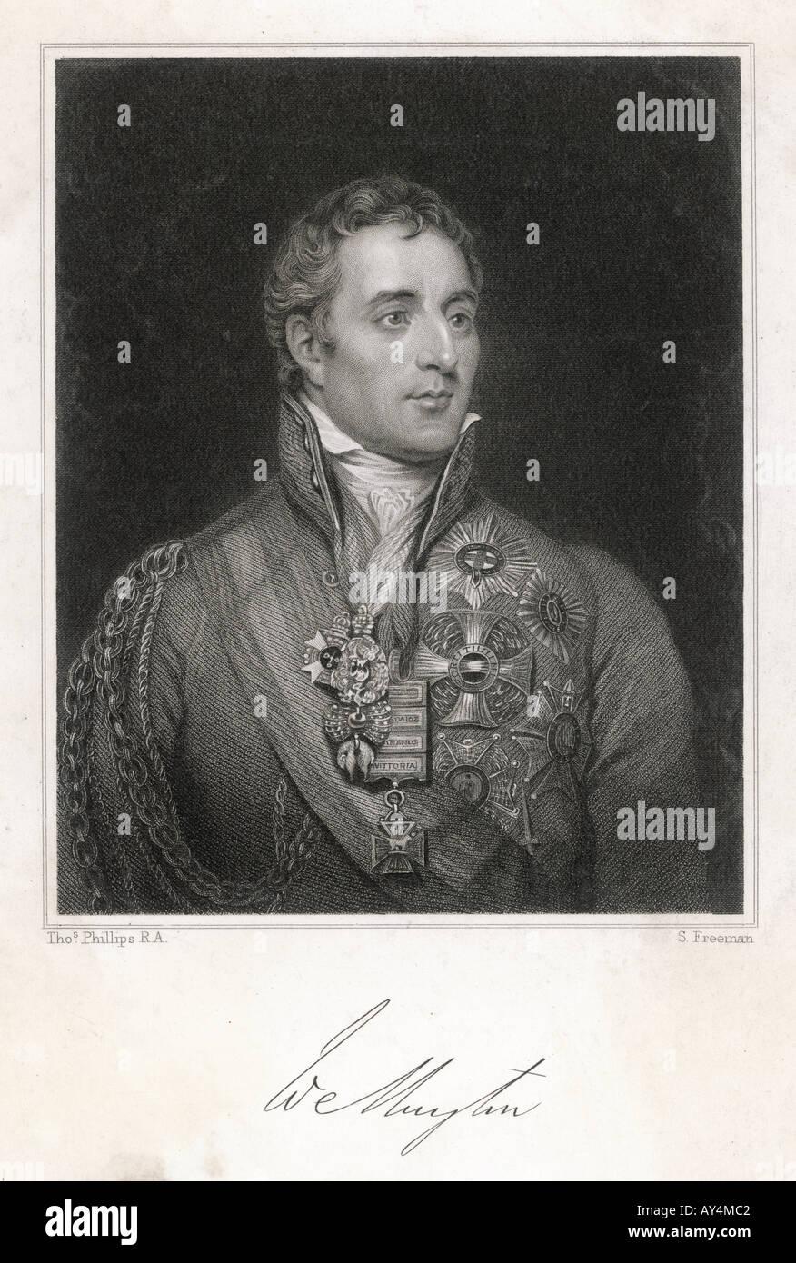 Duke Wellington Philips - Stock Image