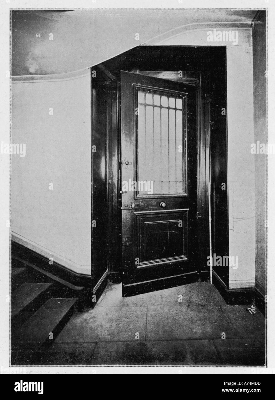 Mona Lisa Theft 1911 Stock Photo