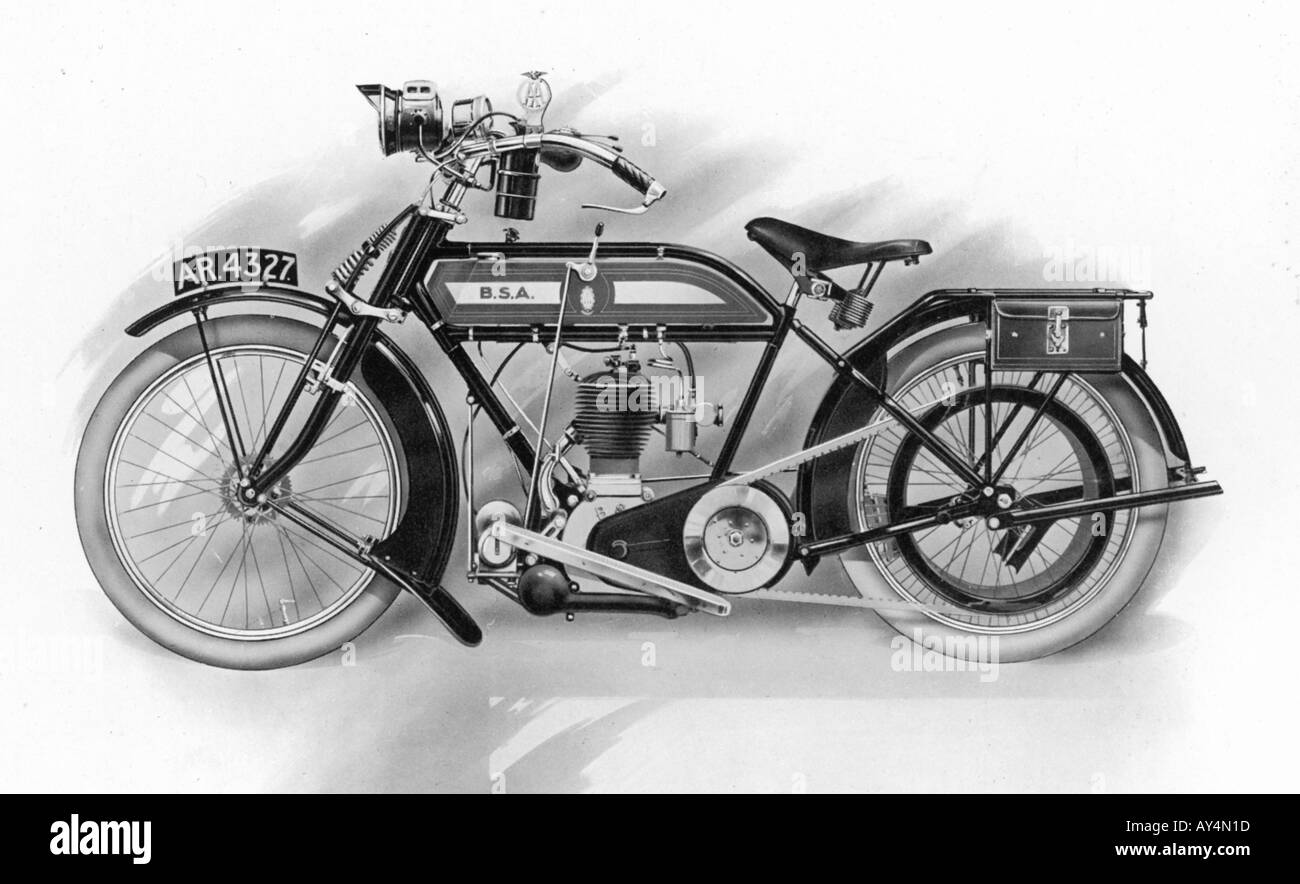 Bsa 1914 Stock Photo