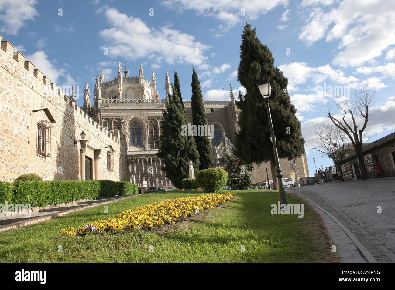 The Monasterio de San Juan de los Reyes in Toledo Spain. - Stock Image