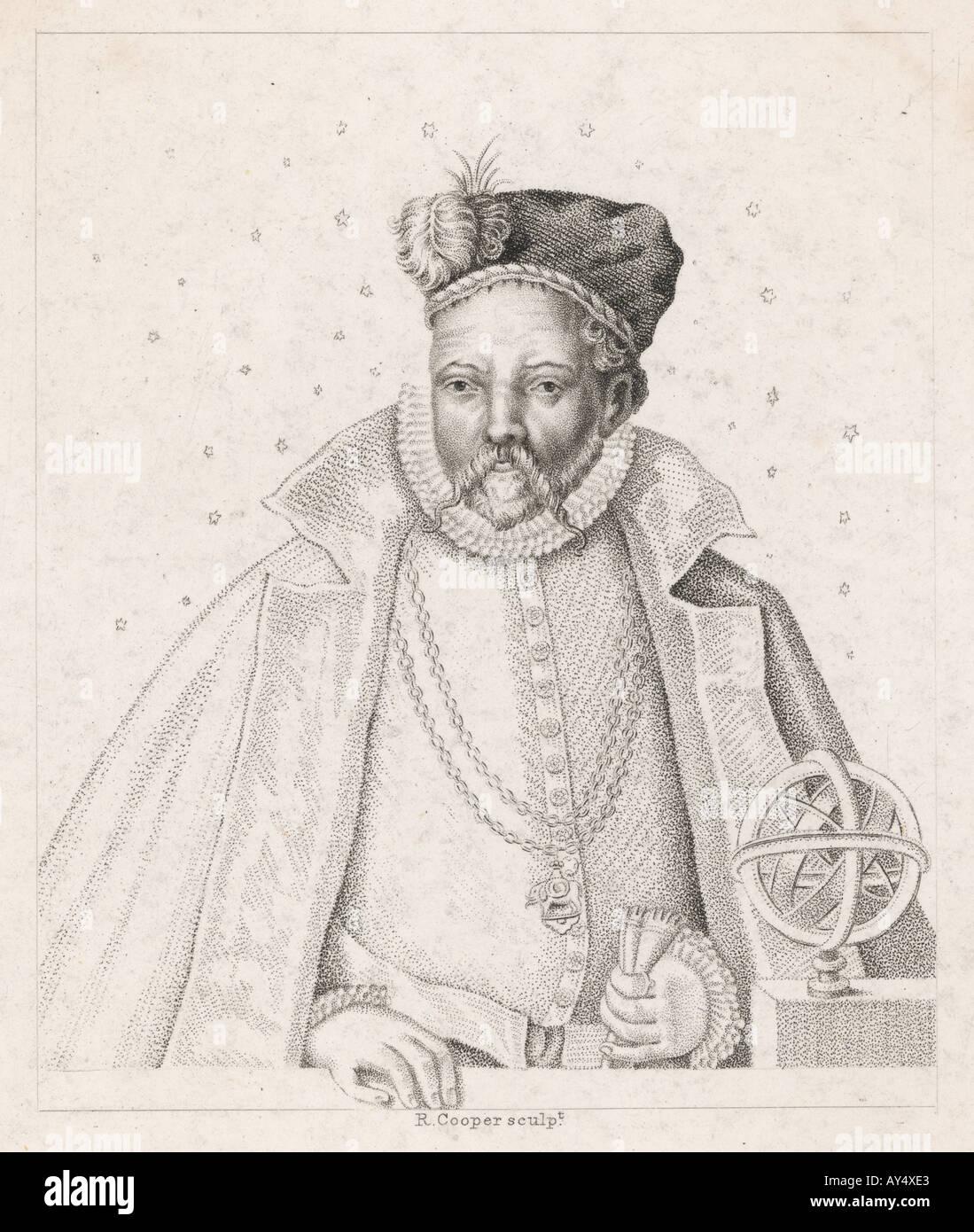 Tycho Brahe Cooper - Stock Image