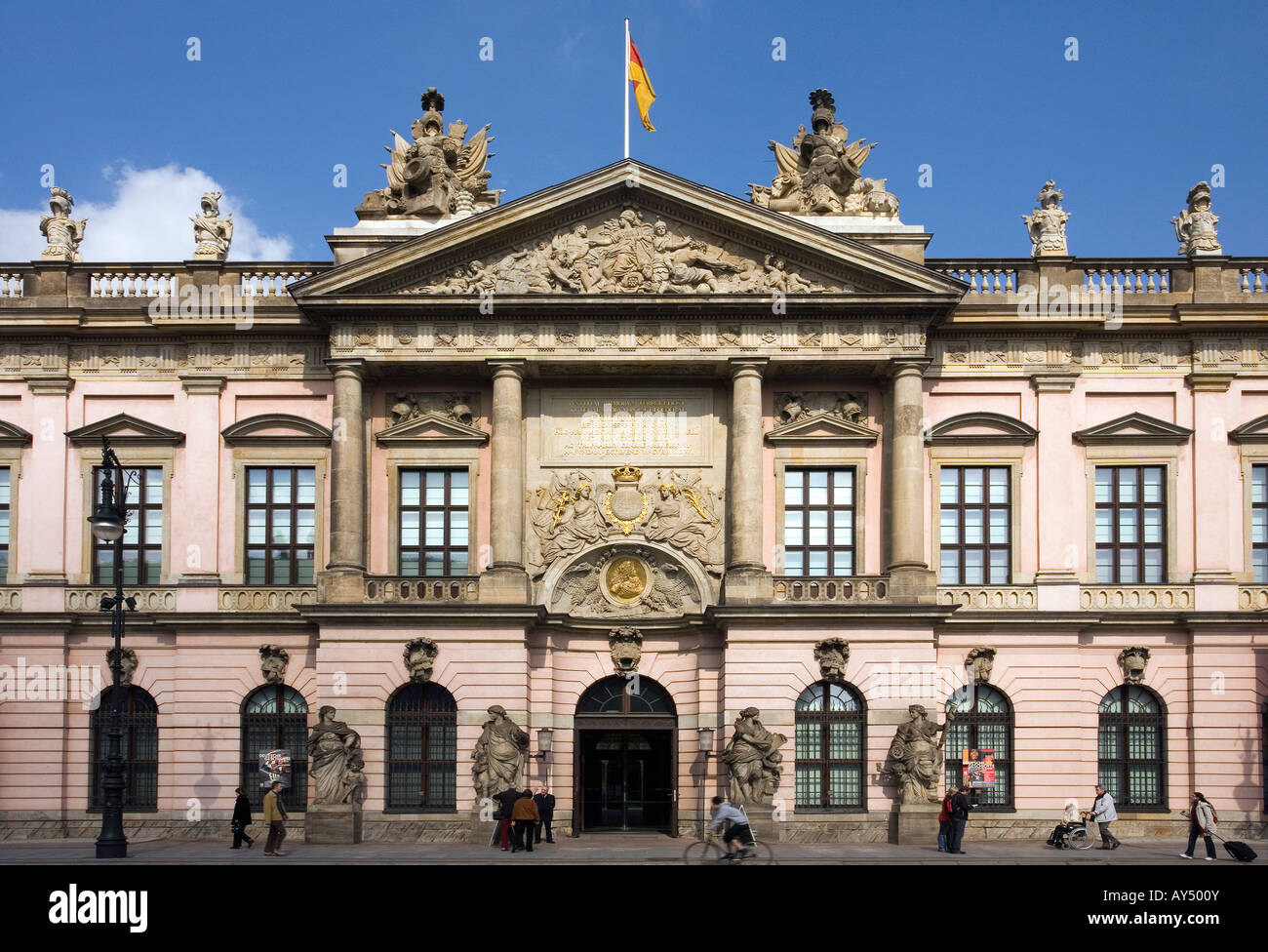 Deutsches Historisches Museum, Zeughaus, Berlin, Germany - Stock Image