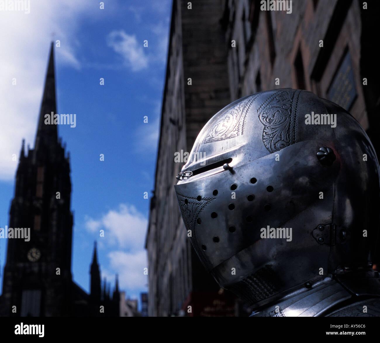 Knights armour Edinburgh Scotland - Stock Image