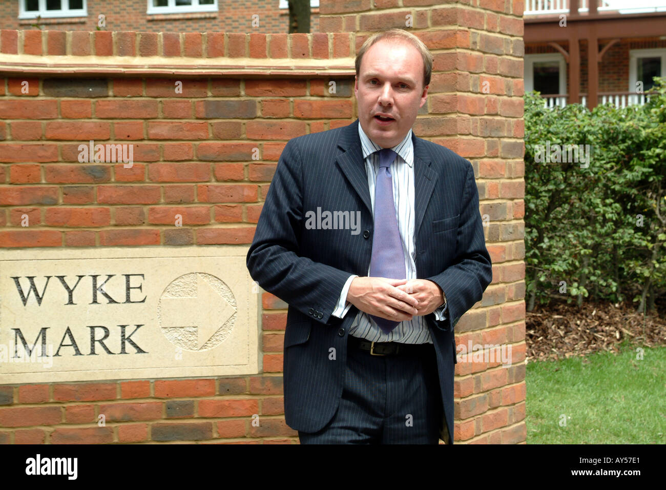 Mark Oaten former MP Member of Parliament for Winchester Hampshire England UK - Stock Image