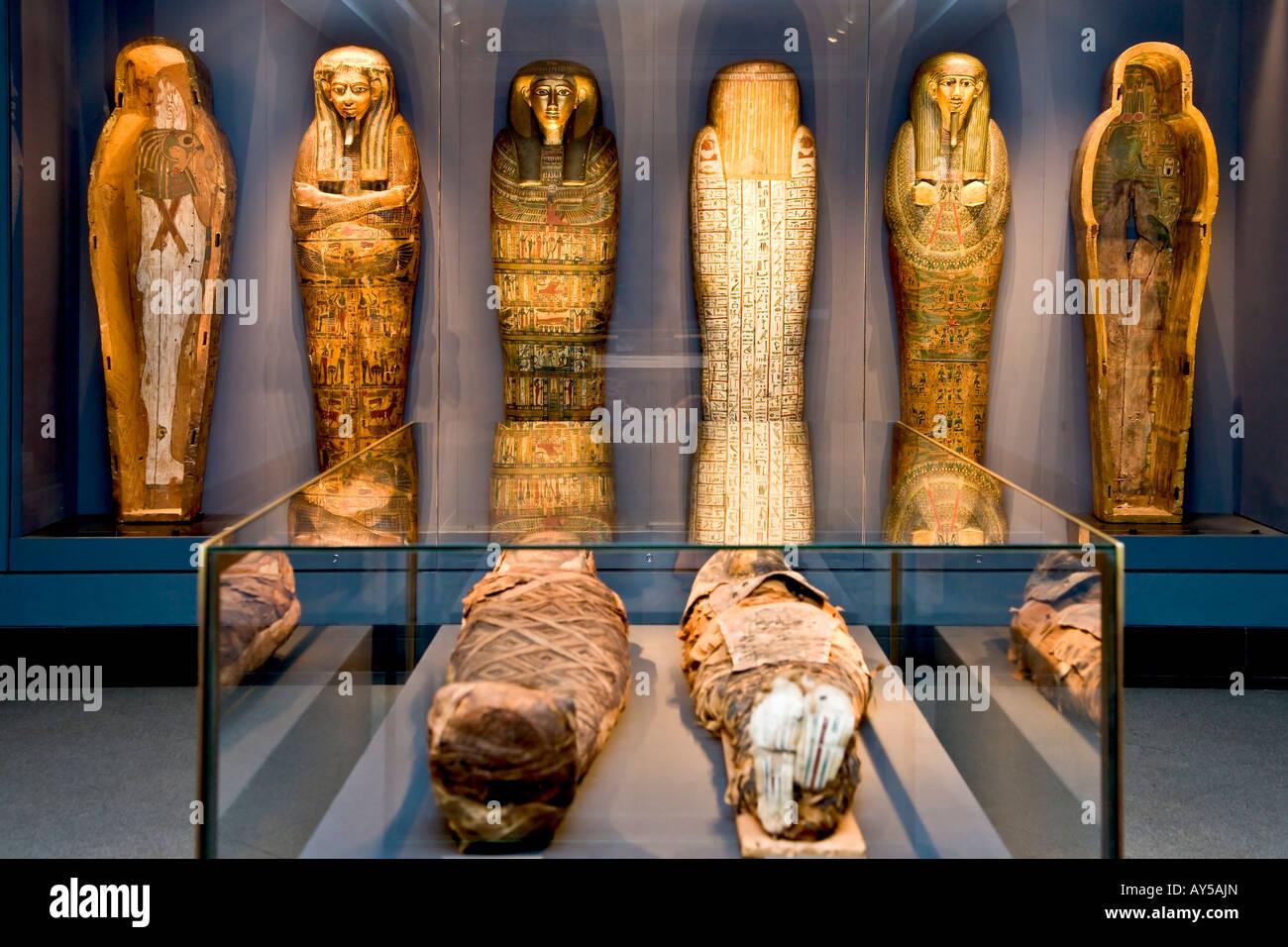 Sarcophagus - Stock Image