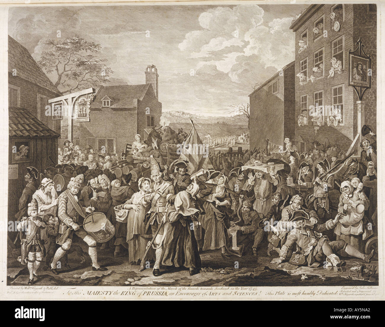 Events Britain 1745 Rebe - Stock Image