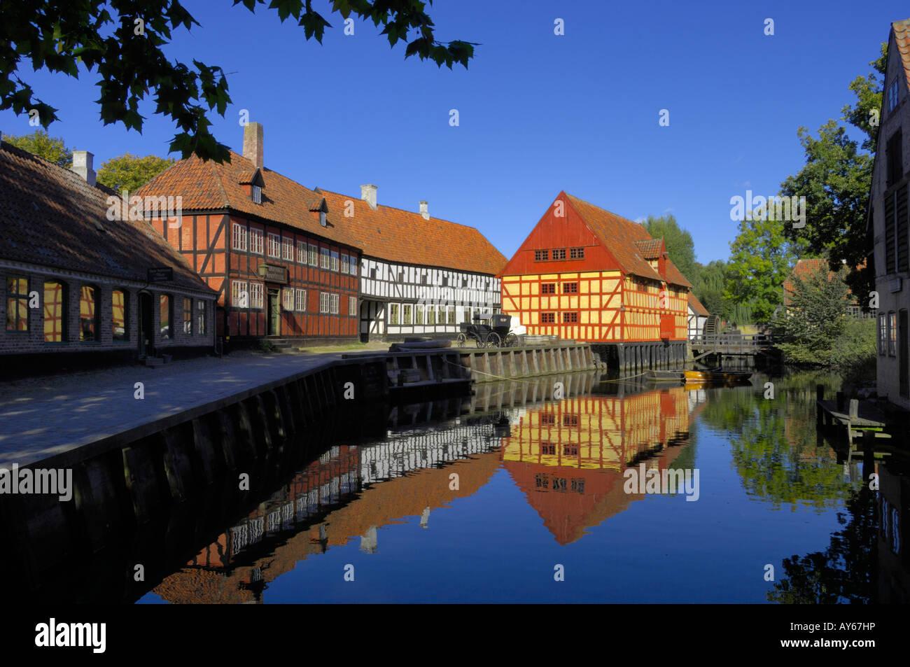 Custom House Den Gamle By Aarhus Denmark Stock Photo