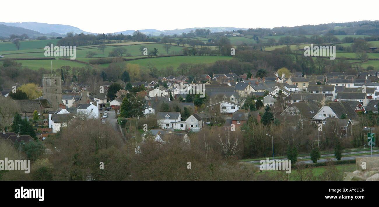 Raglan Monmouthshire South Wales GB UK 2008 - Stock Image