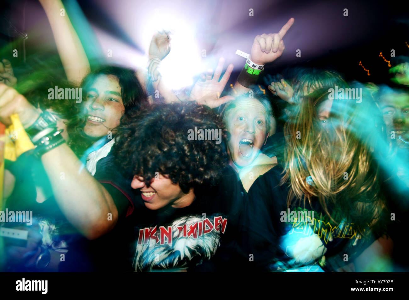 concert crowd 04 - Stock Image