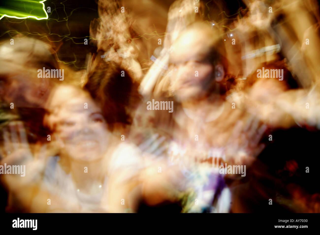 concert crowd 02 - Stock Image