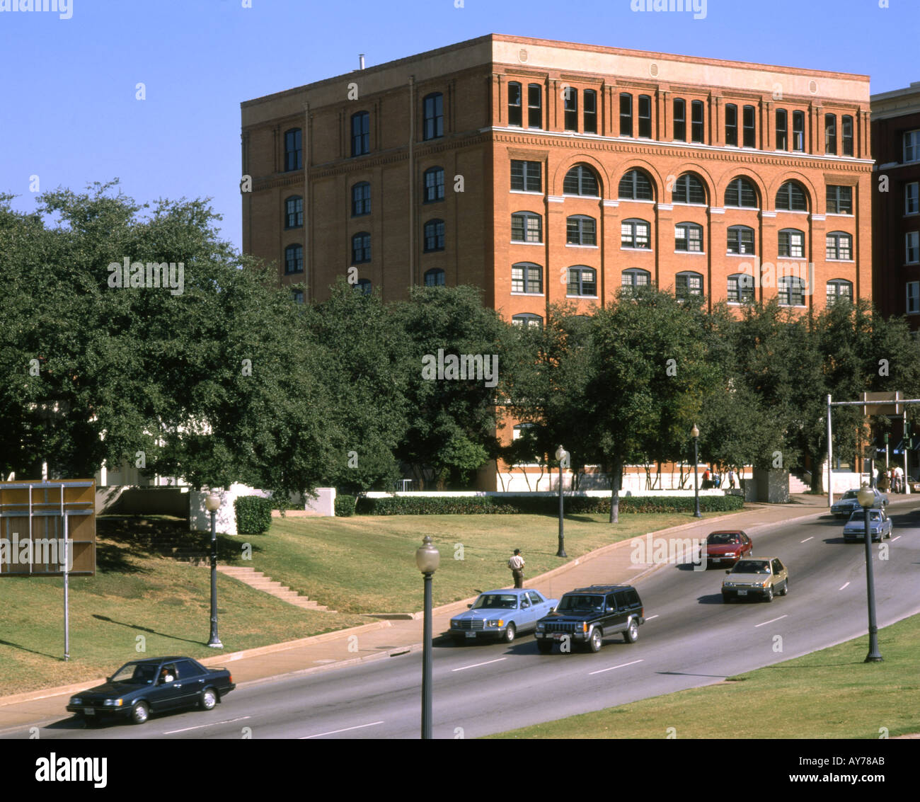 USA Dallas J F Kennedy assassination site - Stock Image