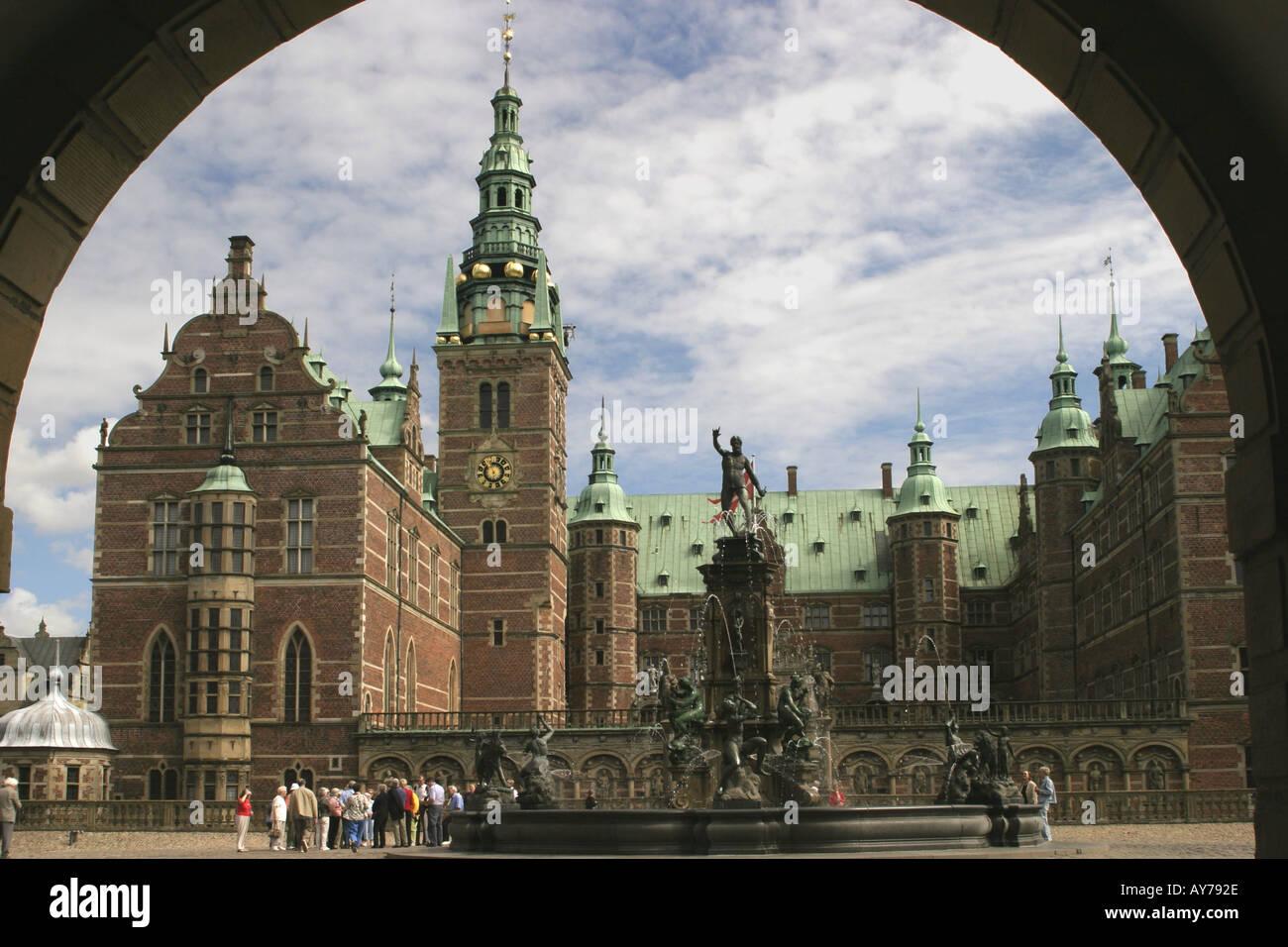 Denmark Fredriksborg palace - Stock Image