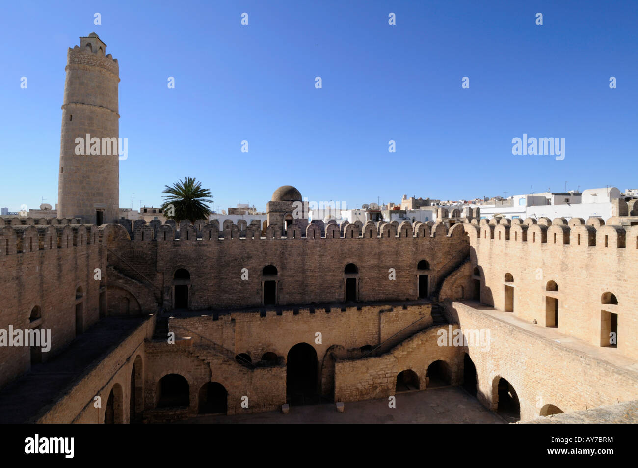 The Ribat, Sousse, Tunisia Stock Photo
