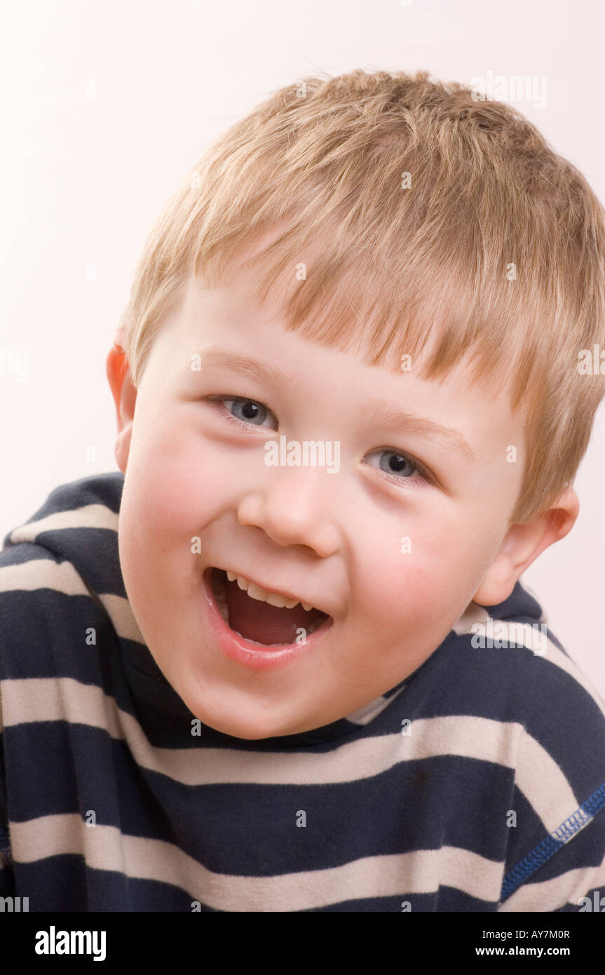 4 Year Boy Bedroom Decorating Ideas: 4 Year Old Blonde Boy Looking Camera Stock Photos & 4 Year