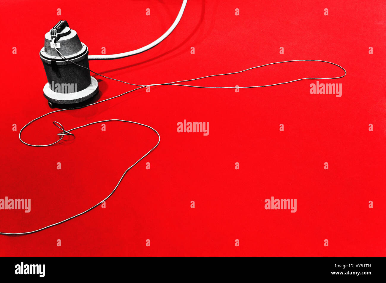 Vacuum Cleaner On Red Carpet Berlinale - Stock Image