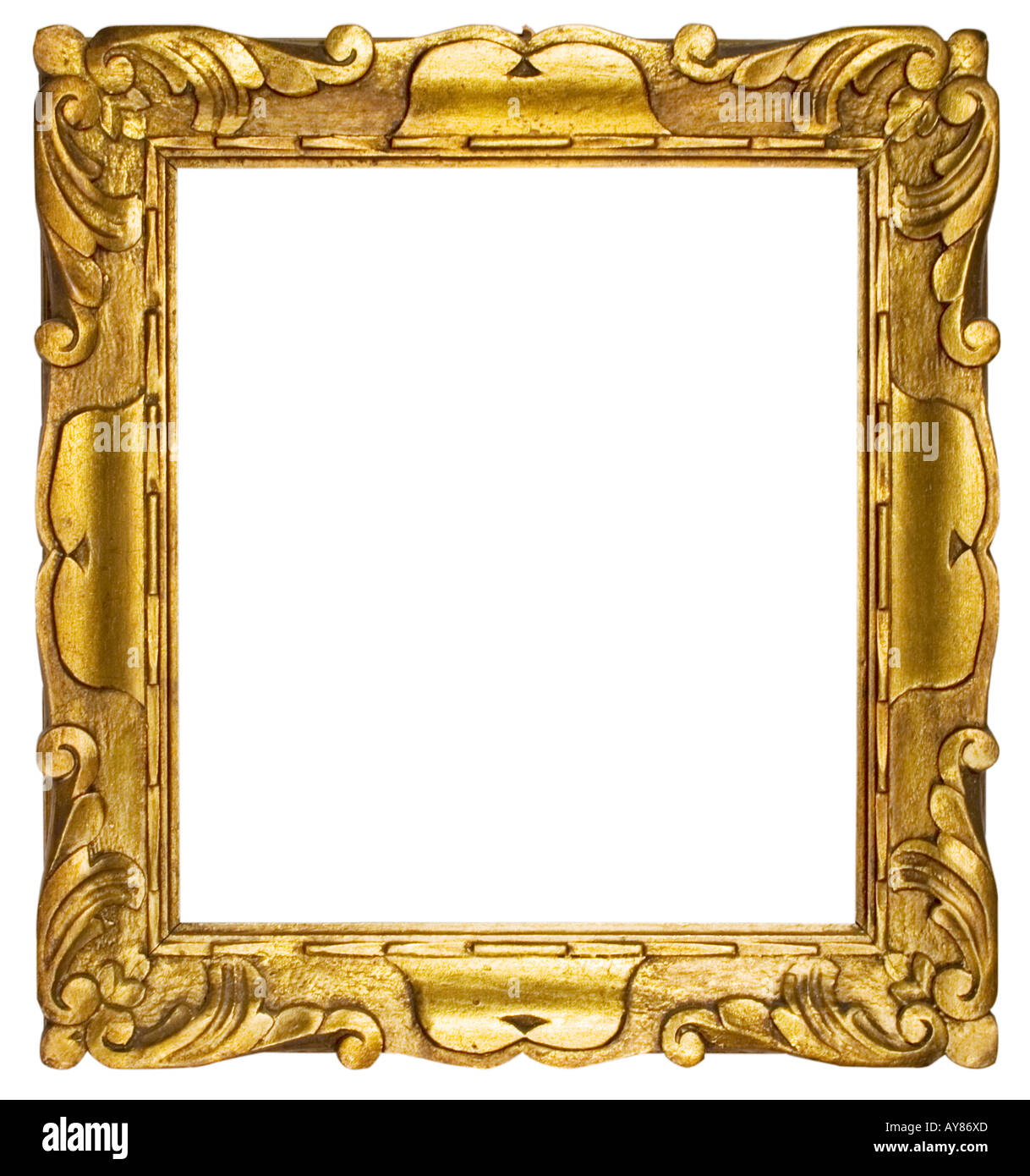 Picture Frame Gold (Square Stock Photo: 9728300 - Alamy