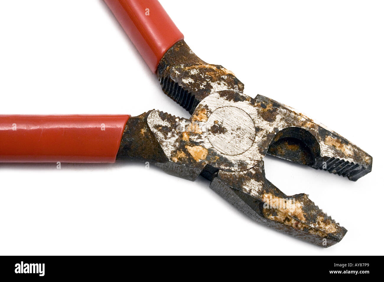 Corroded Pliers - Stock Image
