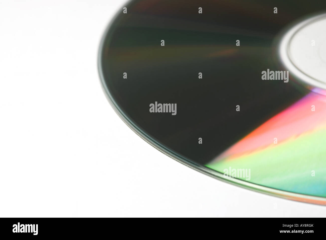 CD, close-up - Stock Image