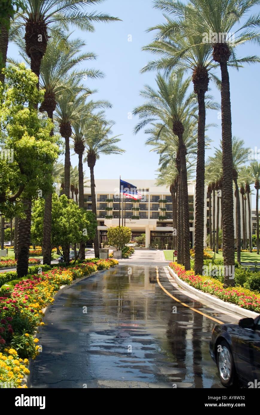 Desert springs jw marriott resort stock photos desert for Desert motor palm desert ca