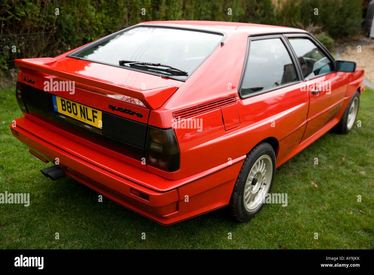 80s Audi Quattro Red Stock Photos & 80s Audi Quattro Red Stock ...