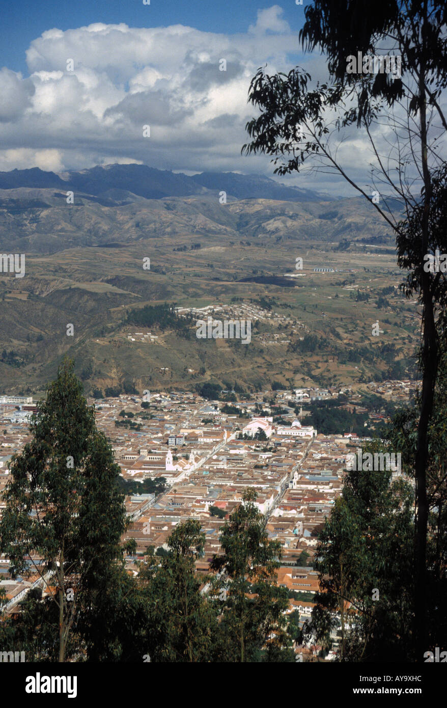 The city of Sucre Stock Photo