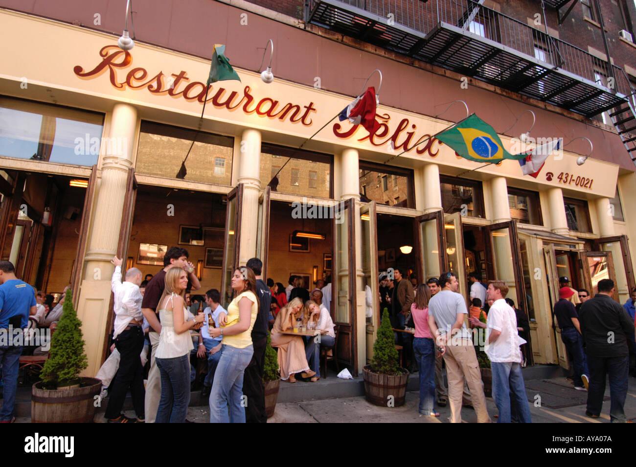 Felix Restaurant New York Soho