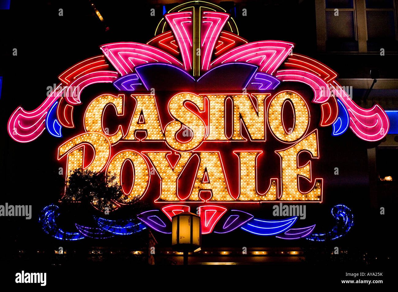 Casino Royale Sign