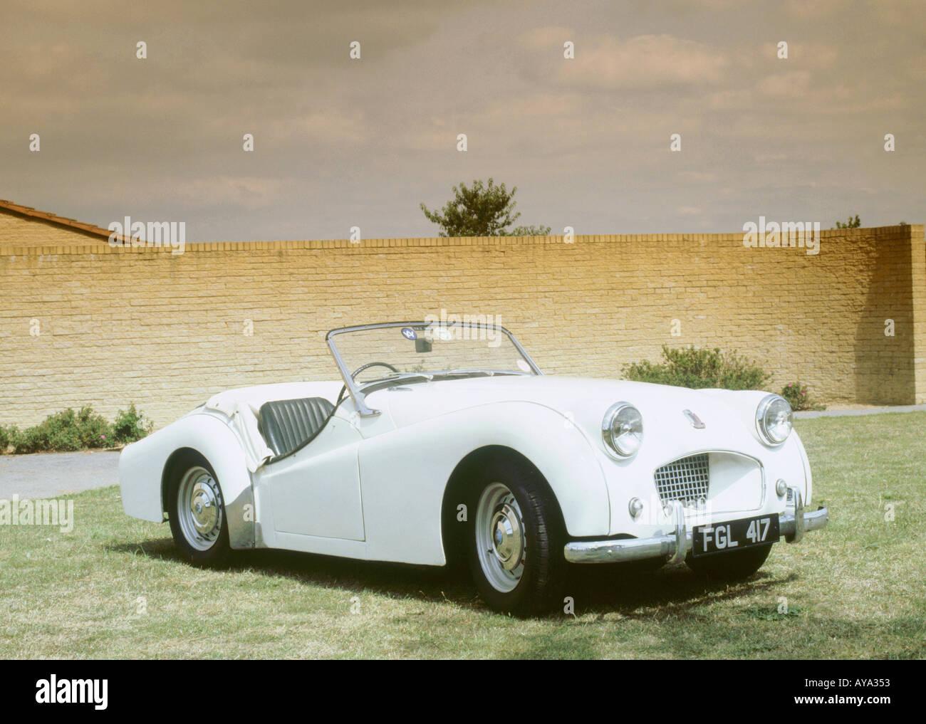 1955 Triumph TR2 - Stock Image