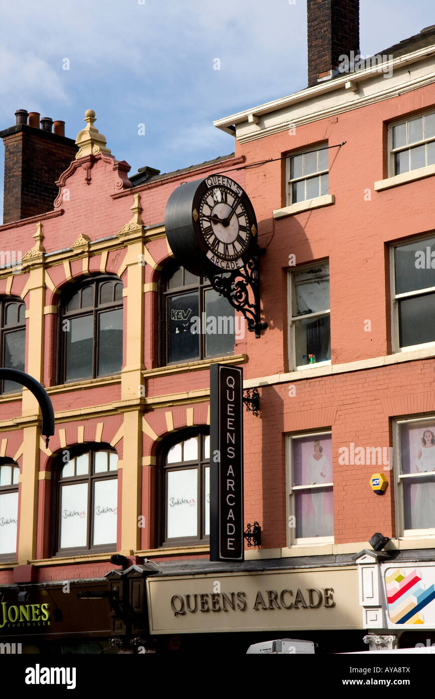 Thornton's Arcade, Leeds , West Yorkshire , UK - Stock Image