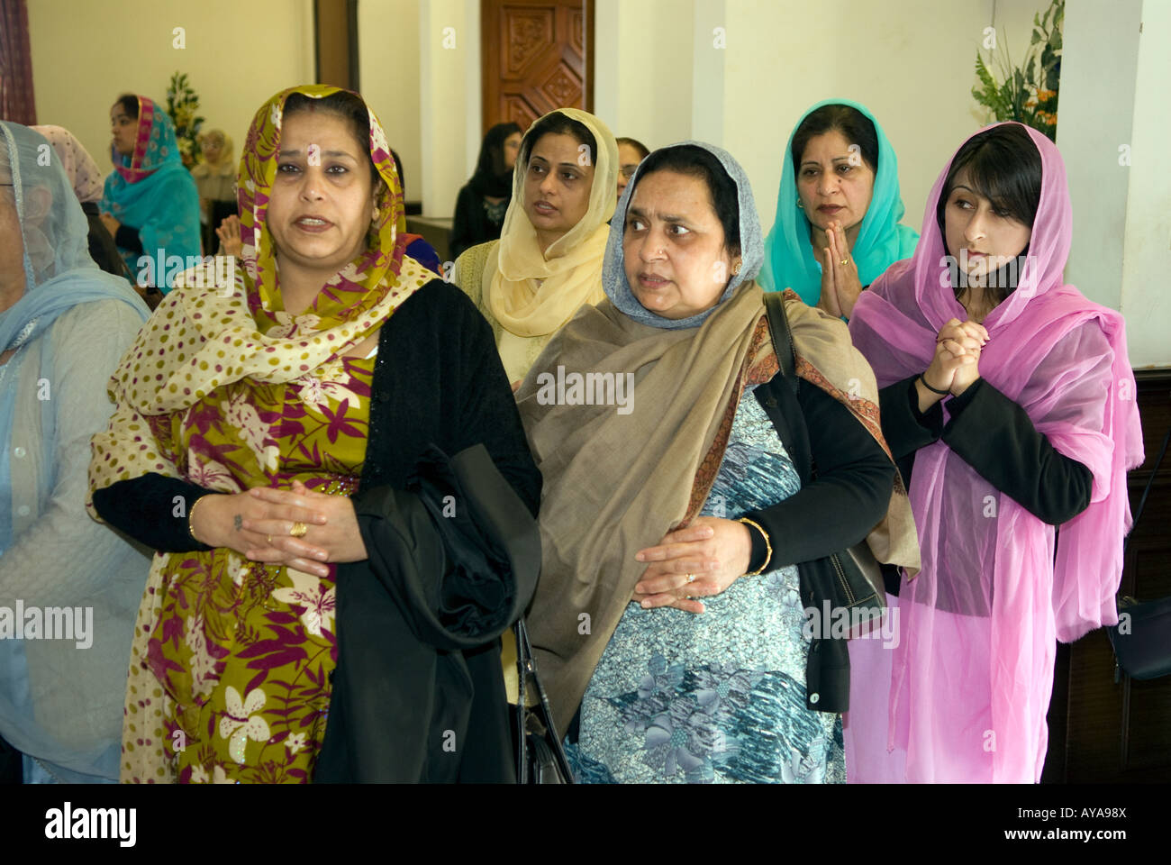 Gurdwara With People Stock Photos & Gurdwara With People