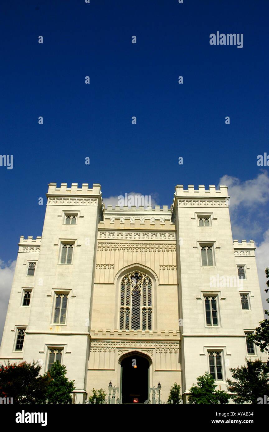 Baton Rouge LA Louisiana Old State Capitol Building - Stock Image