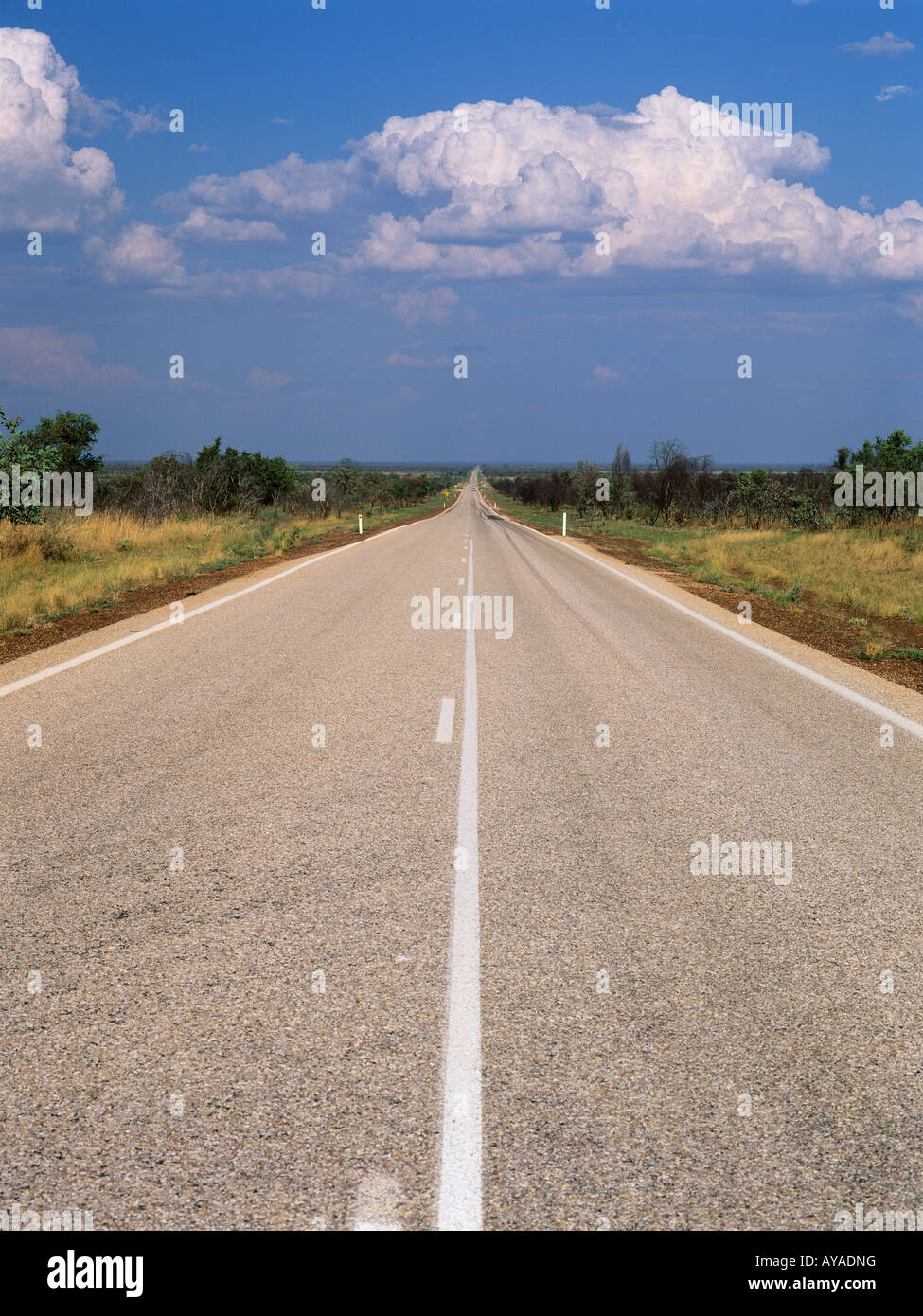 Great Northern Highway road in the Kimberley region Western Australia Australia Stock Photo