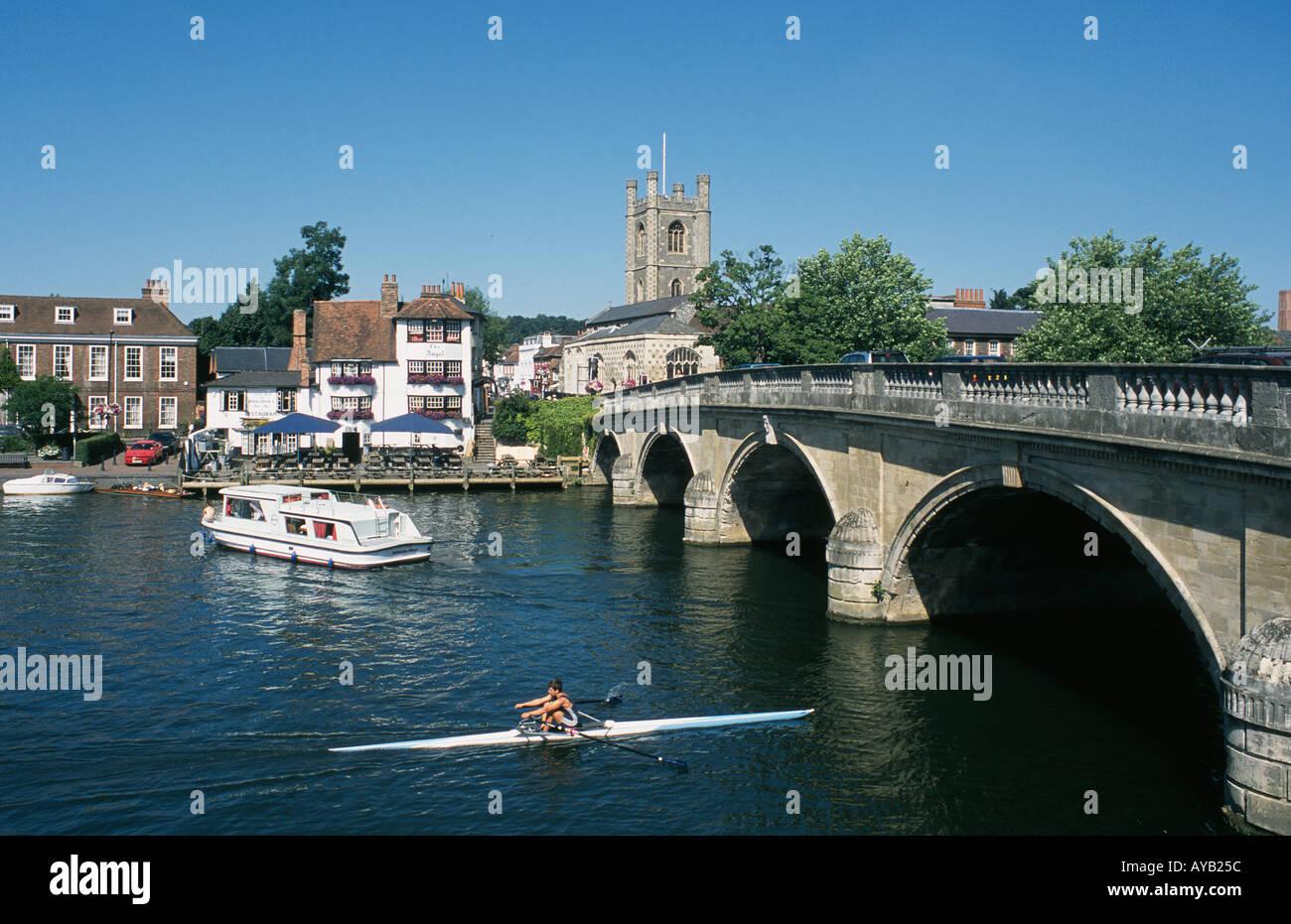 Henley on Thames Oxfordshire UK Stock Photo