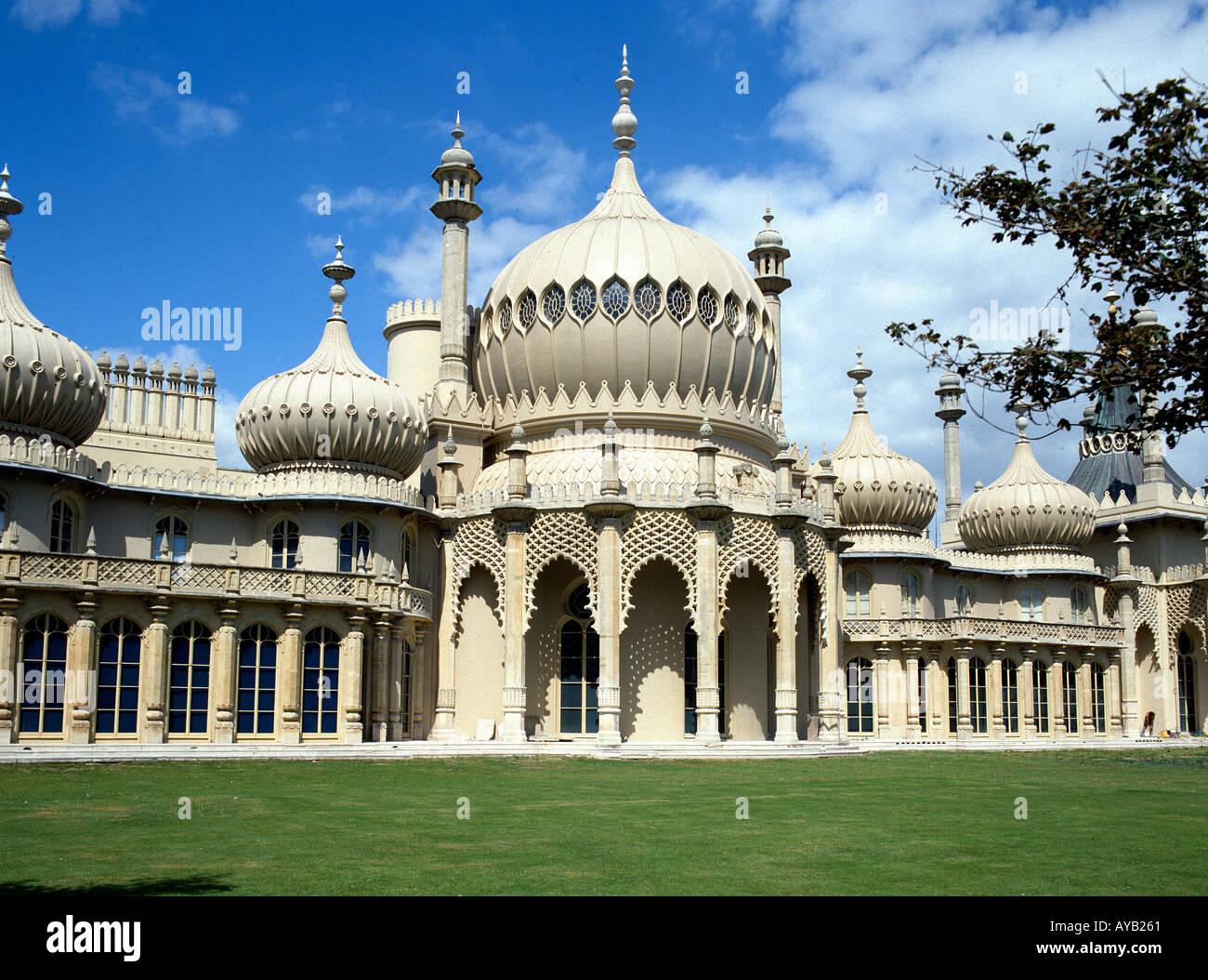 The Royal Pavilion at Brighton - Stock Image