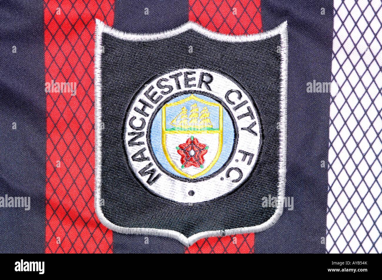 manchester city football club premier league team badge