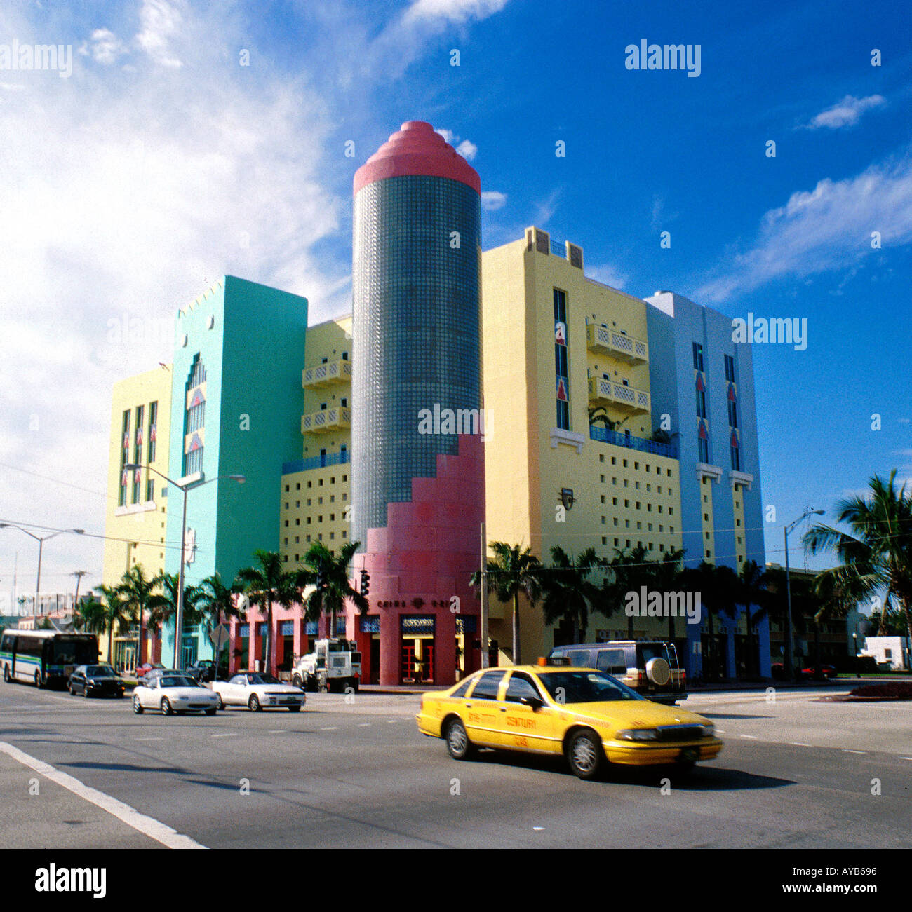 art deco buildings at south miami beach stock photo 1816213 alamy