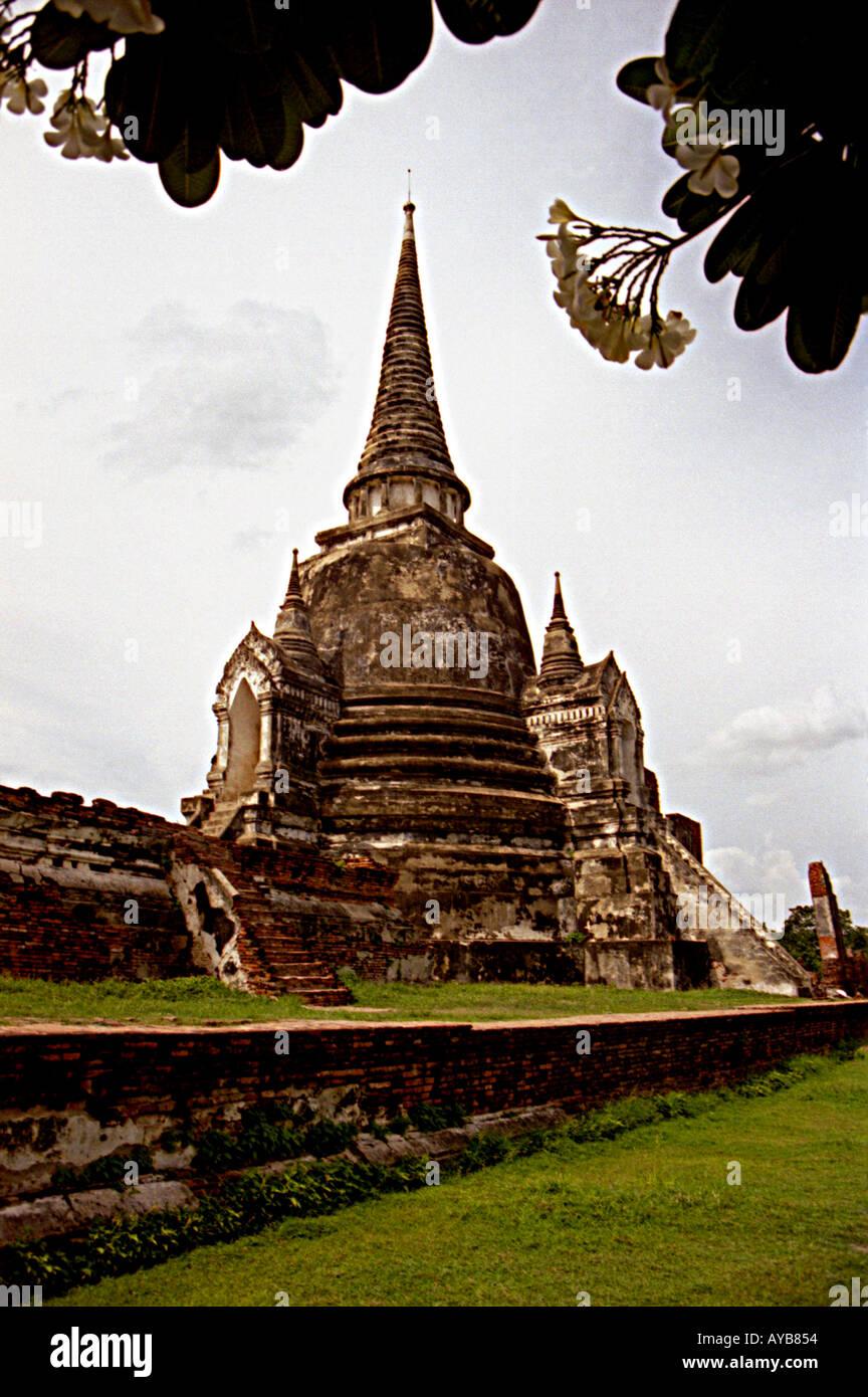 Wat Phro Sri Sanphet Stock Photo