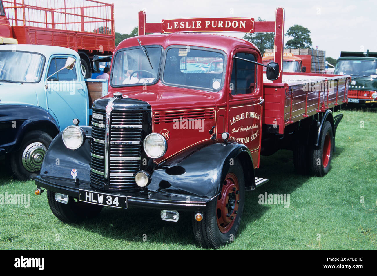 Bedford 'O' lorry - Stock Image