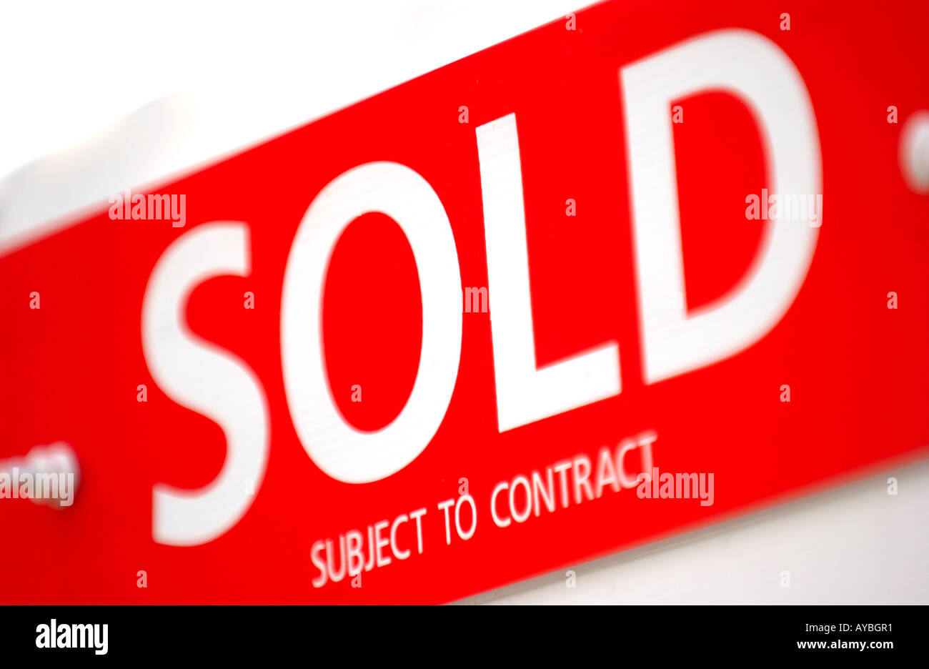 For Sale Sold Sign: Gazump Stock Photos & Gazump Stock Images